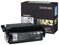 Lexmark Tonercartridge zwart return program - 10000 pagina's - 12A5840-2