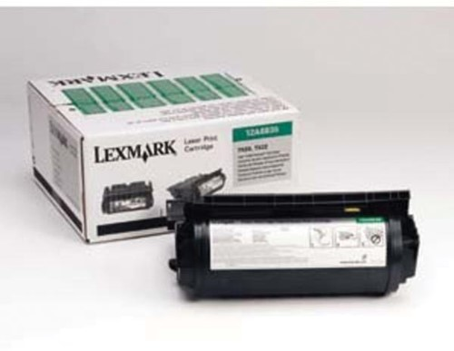 Lexmark Tonercartridge zwart return program - 20000 pagina's - 12A6835