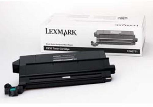 Lexmark Toner Kit zwart - 14000 pagina's - 12N0771-2