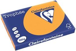 Clairefontaine Trophée Pastel A3 oranje, 120 g, 250 vel