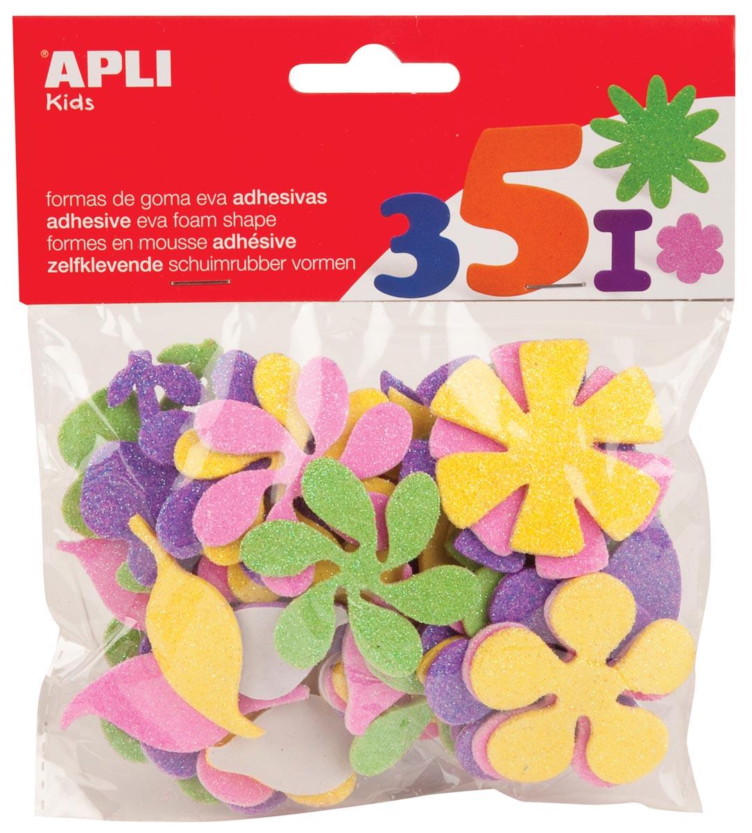 APLI Apli Schuimrubber vormen, 48 stuks (13078)