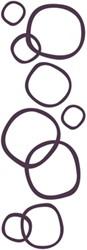 "Office Deco transfer L ""Fine art circles"""