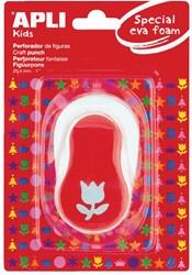 Apli Kids figuurpons voor schuimrubber 25,4 mm tulp, op blister