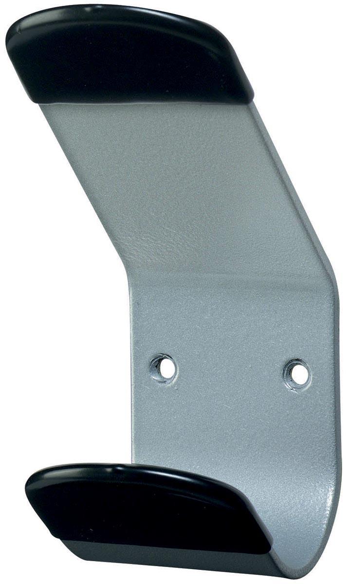 Unilux muurkapstok Steely, 1 haak, grijs