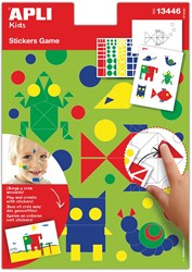 Apli Kids educatief stickerspel, dieren