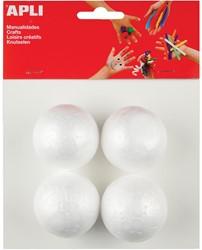 Apli isomobol, diameter 50 mm, blister met 4 stuks