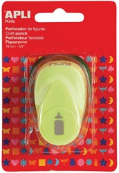 Apli Kids figuurpons voor papier 16 mm papfles, op blister