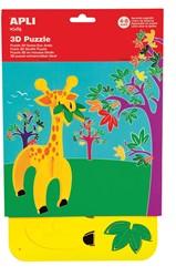 Apli Kids schuimrubber 3D puzzel, giraf
