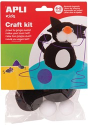 Apli Kids craft kit, op blister, kat