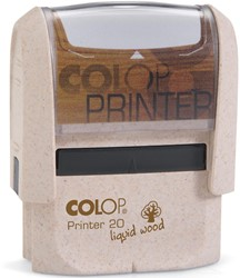 Colop Stempel Liquid Wood printer 20, ft 14 x 38 mm, voor België