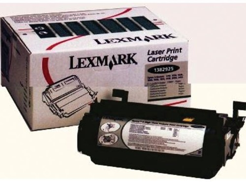 Lexmark Tonercartridge zwart return program - 17600 pagina's - 1382925