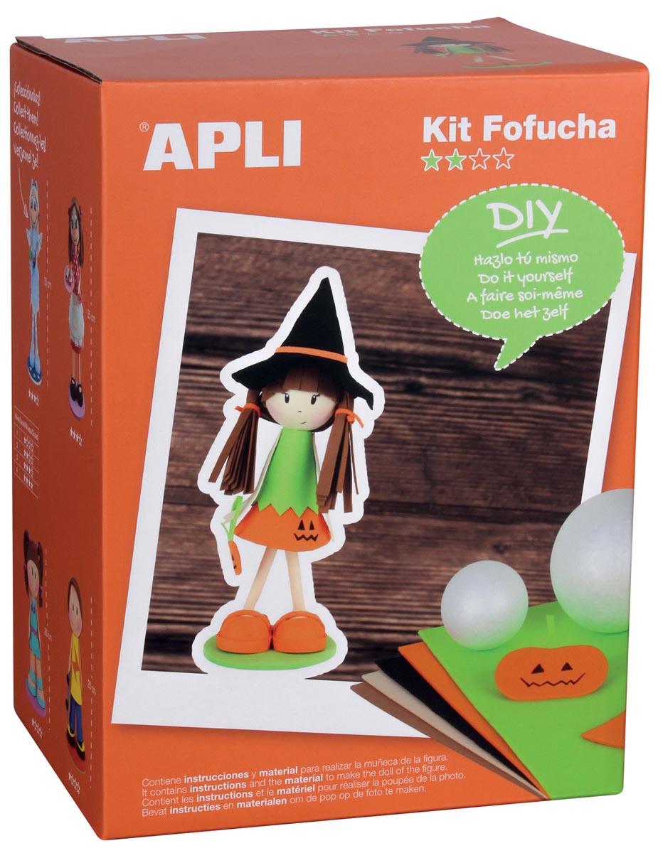 Apli Kids schuimrubber kit Fofucha, pompoen