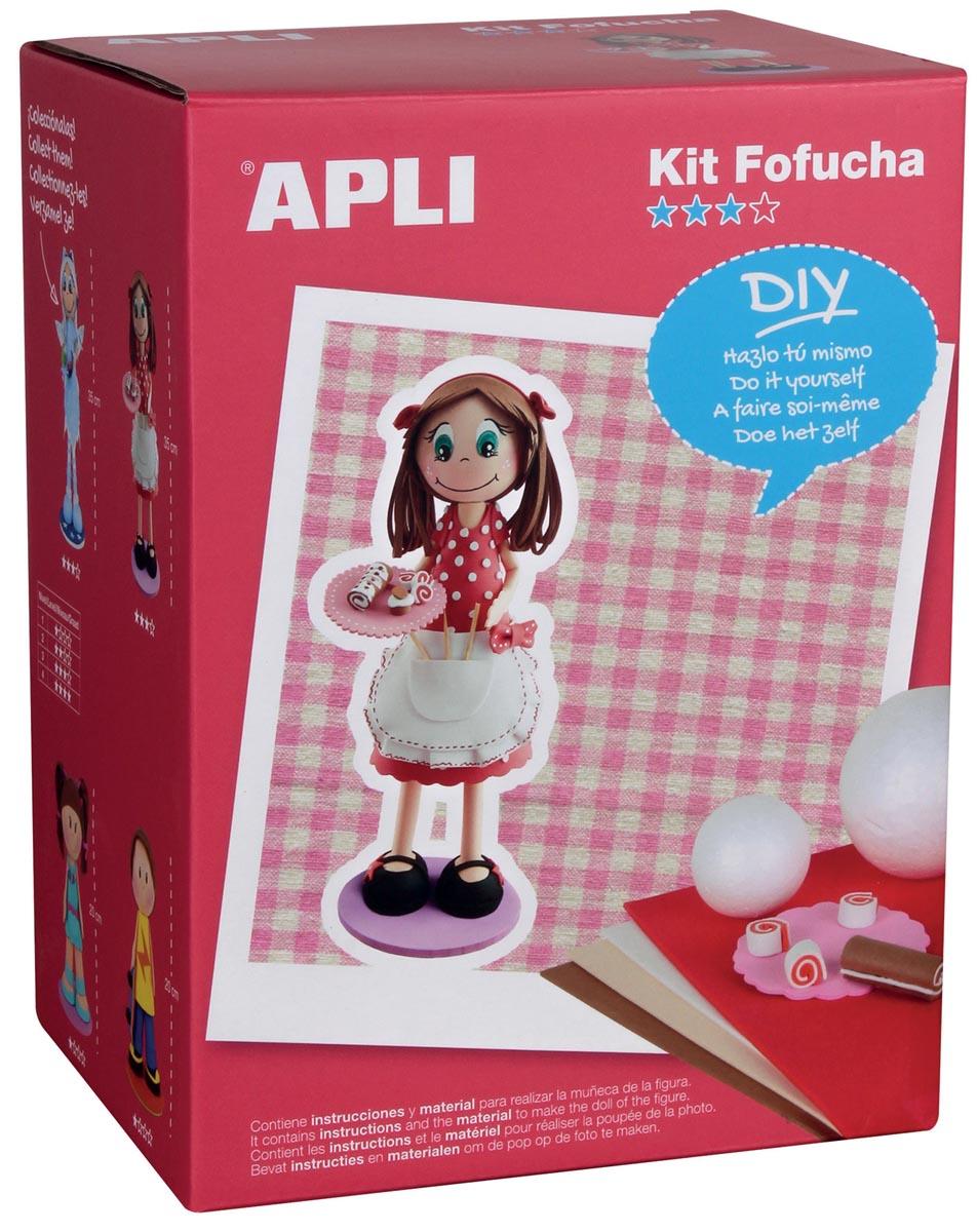 Apli Kids schuimrubber kit Fofucha, bakkerin