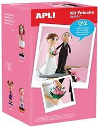 Apli Kids schuimrubber kit Fofucha, bruidspaar