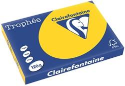Clairefontaine Trophée Pastel A3 goudgeel, 120 g, 250 vel