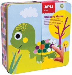 Apli Kids metalen stickerbox, dieren