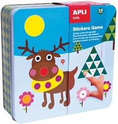 Apli Kids metalen stickerbox, polair