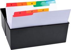 Exacompta tabbladen AZ voor systeemkaartenbakken, 25 tabs, ft A6