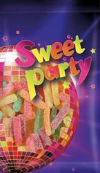 Sweet Party zuurtjes, zakje van 100 g