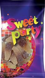 Sweet Party zure cola flesjes, zakje van 100 g