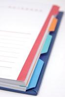 Class'ex tabbladen wit, 23-gaatsperforatie, 5 gekleurde tabs-2