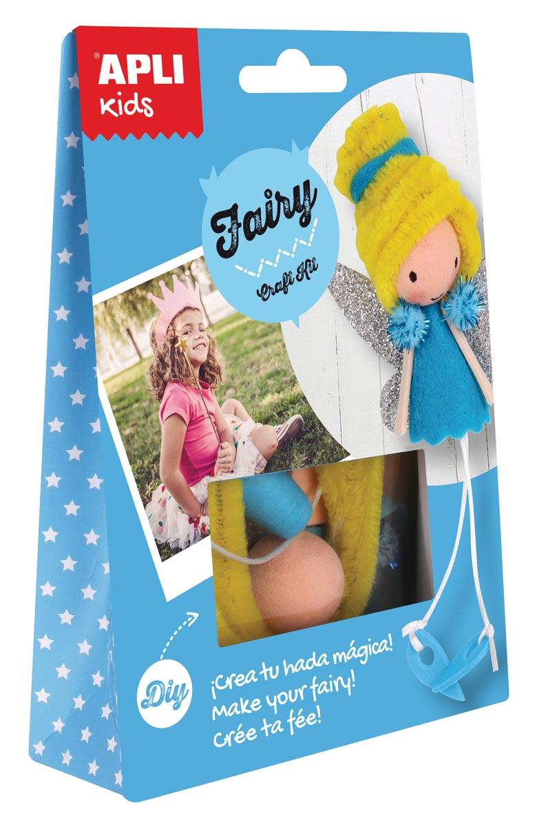 Apli Kids craft kit, op blister, fee
