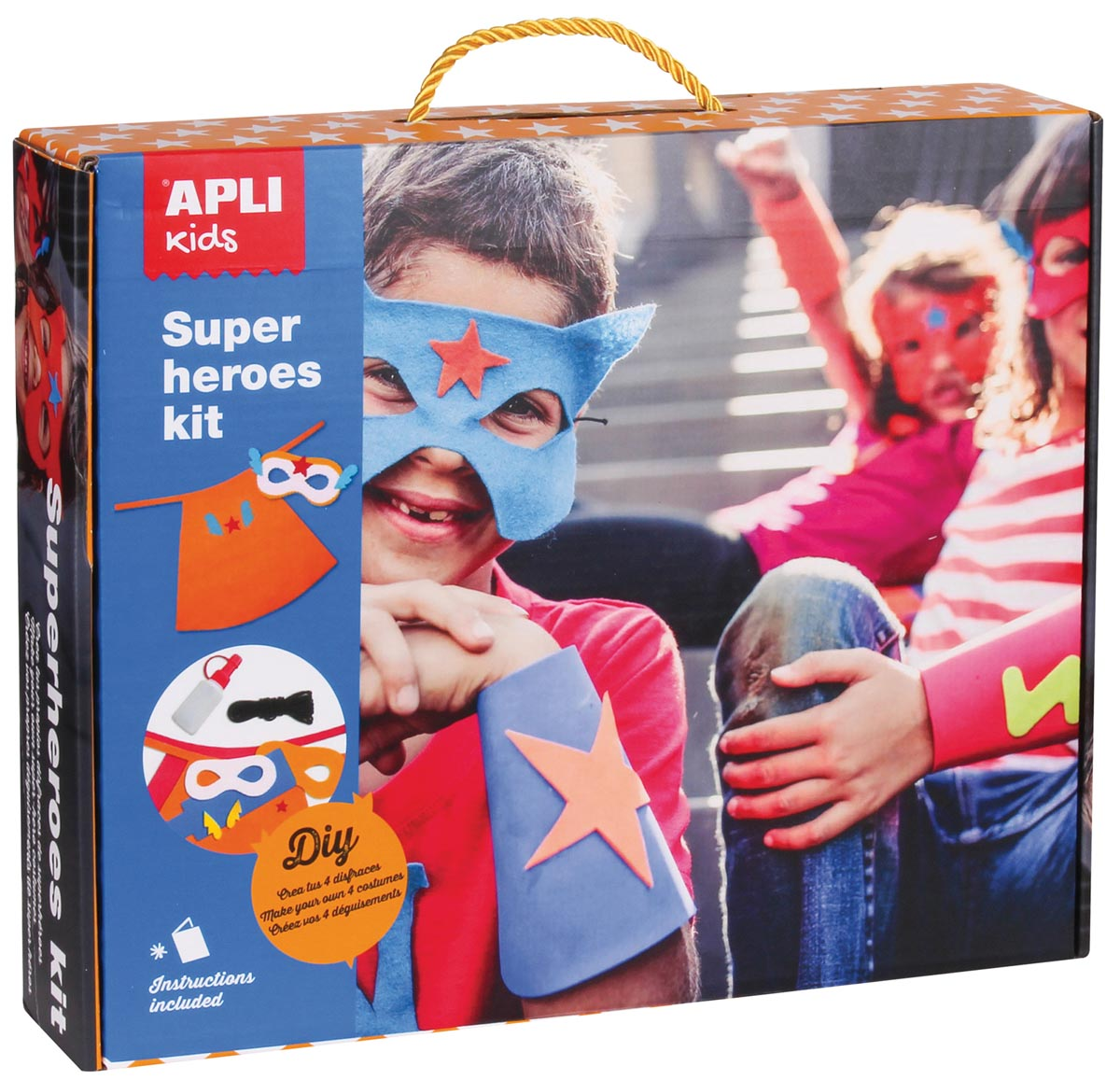 Apli Kids DIY verkleedkit Superhelden