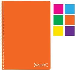 Gallery Passion For Colour spiraalschrift, geassorteerde kleuren, ft A4, geruit 5 mm