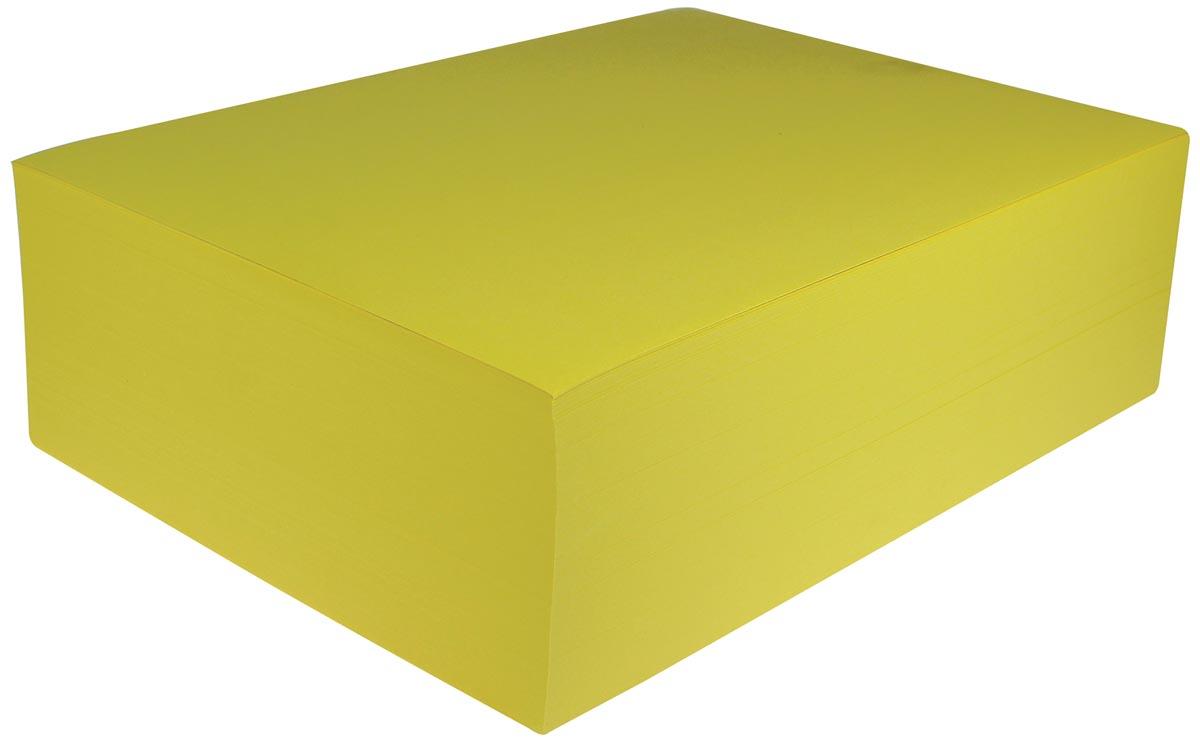 Gekleurd tekenpapier geel
