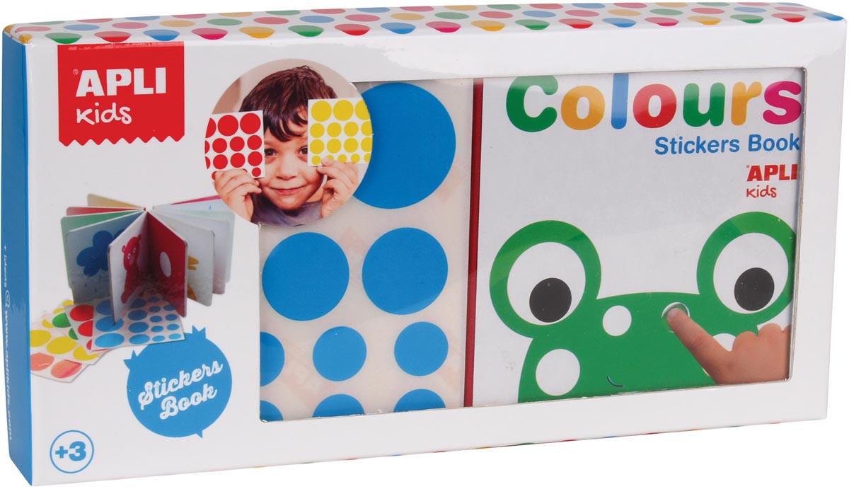 Apli Kids 'Mijn eerste boekje' met stickers, thema kleuren