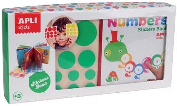 Apli Kids 'Mijn eerste boekje' met stickers, thema cijfers