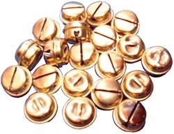 Bouhon belletje diameter 10 mm, zakje met 40 stuks