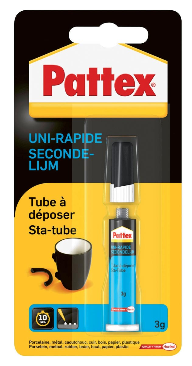 Pattex secondenlijm Sta-Tube