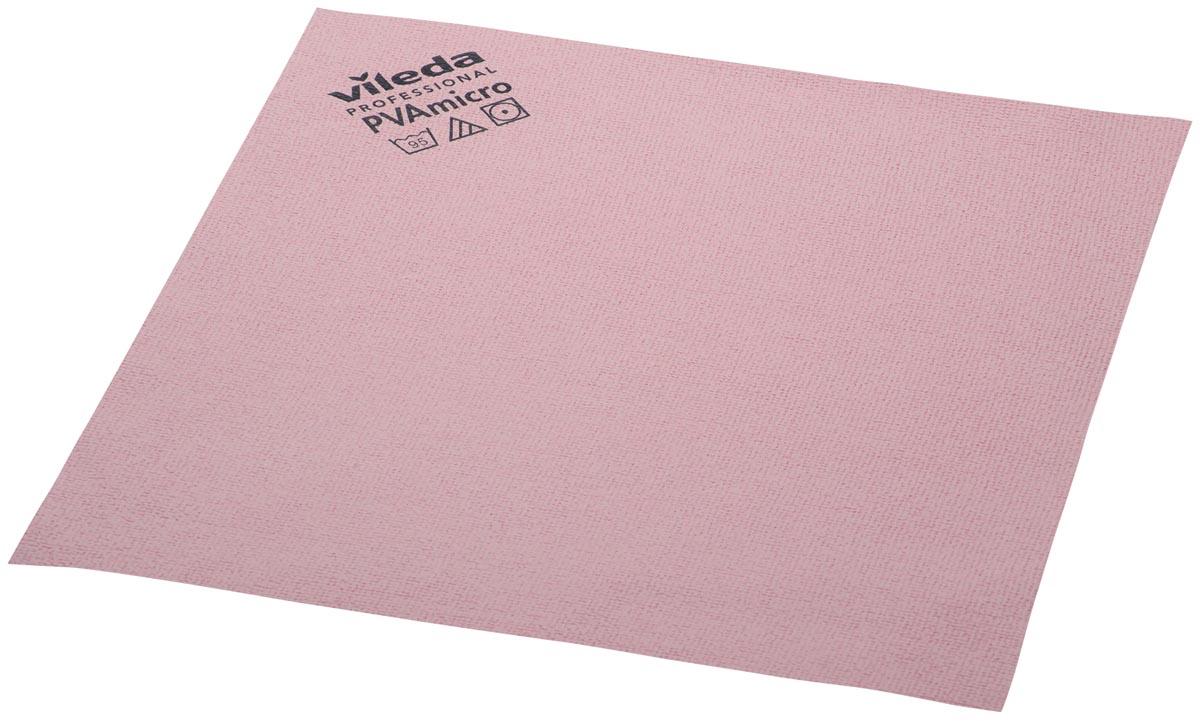Vileda microvezeldoek PVA, rood, pak van 5 stuks