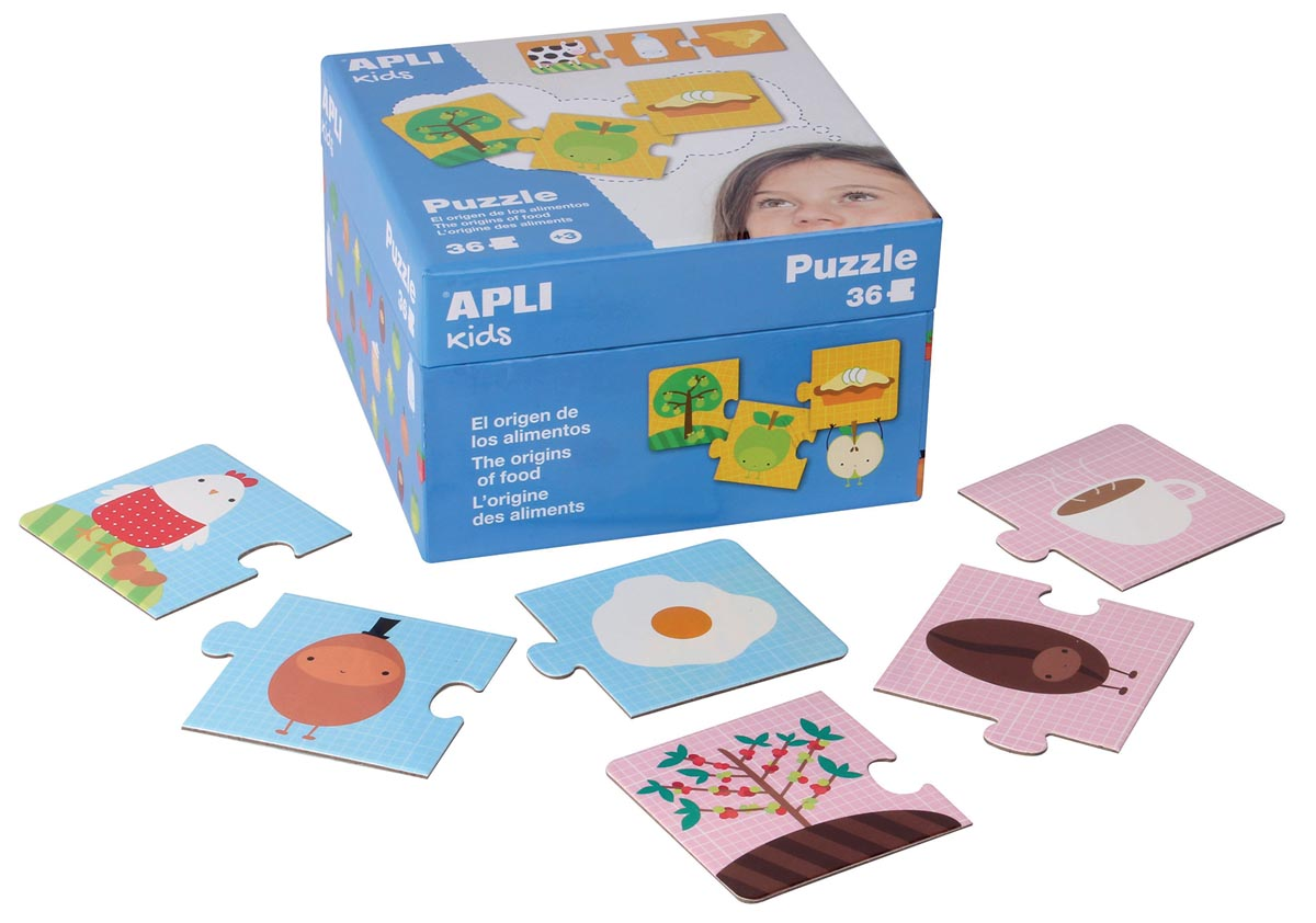 Apli Kids puzzel The Origins
