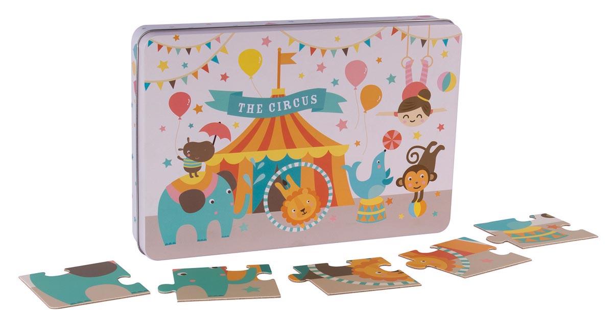 Apli Kids puzzel met 24 stukken, circus
