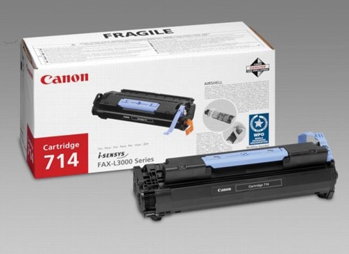 Canon toner 714, 4.500 pagina's, OEM 1153B002, zwart