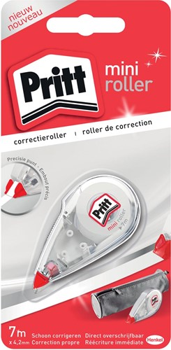 Pritt correctieroller Mini op blister