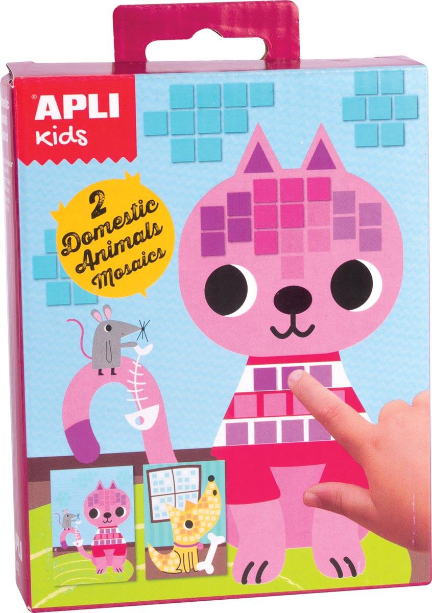Apli Kids mini kit mozaïek, huisdieren