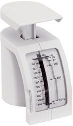 Maul postweegschaal 145, weegt tot 500 gram, gewichtsinterval van 10 gram