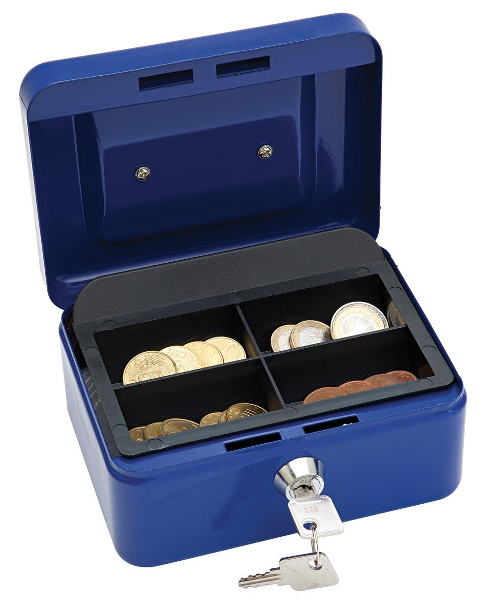Wedo geldkoffer, ft 12,5 x 11,5 x 8 cm, blauw-2