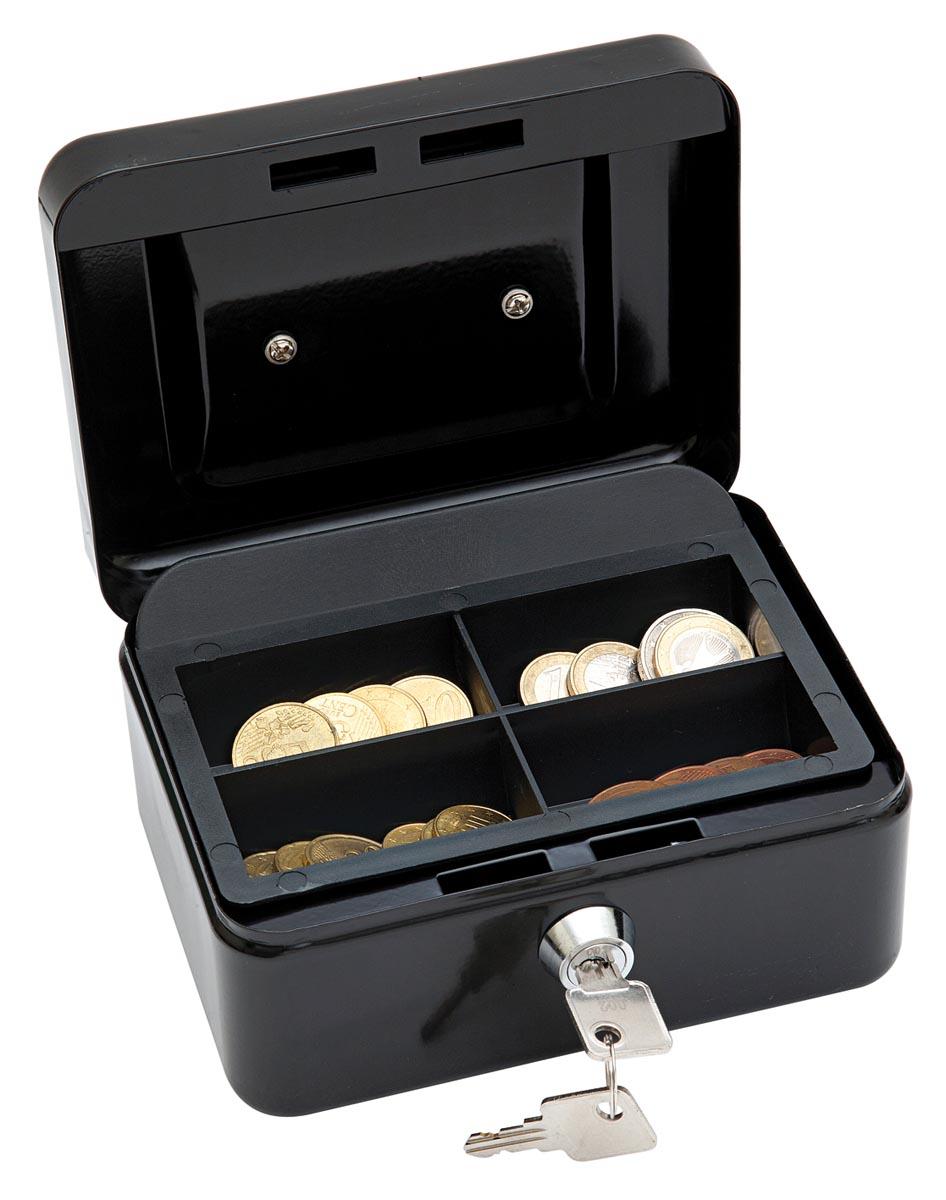Wedo geldkoffer, ft 12,5 x 11,5 x 8 cm, zwart-2