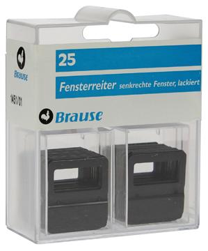 Brause vensterruiters 25 mm