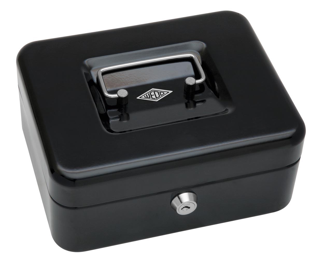 Wedo geldkoffer, ft 20 x 16 x 9 cm, zwart-2