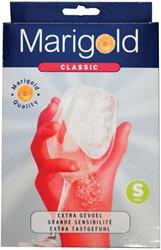 Vileda handschoenen Marigold Classic, small, rood