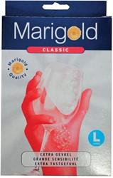 Vileda handschoenen Marigold Classic, large, rood