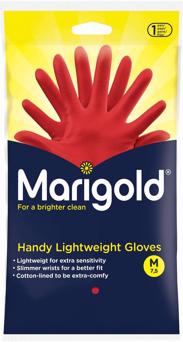 Vileda handschoenen Marigold Handy, medium, rood