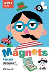 Apli Kids magnetisch spel, grappige gezichten