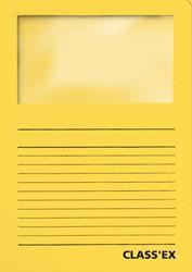Class'ex L-map met venster intens geel