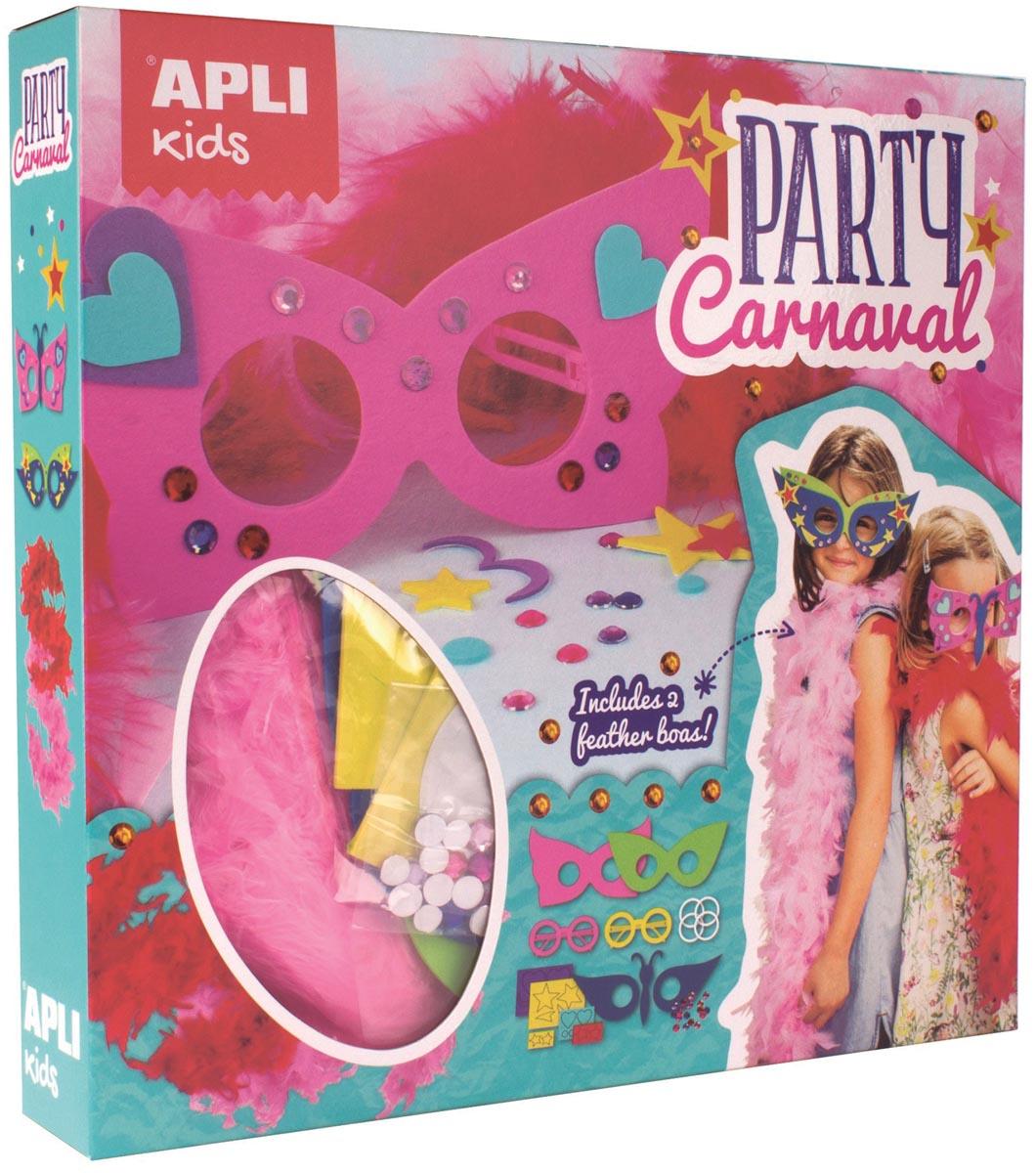 Apli Kids Carnaval Party brillen, doos met 2 brillen